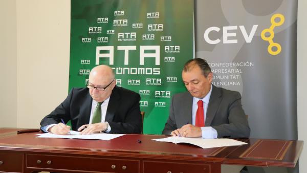 La Asociación de Trabajadores Autónomos se incorpora a la CEV