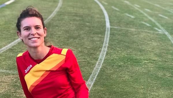 La atleta Blanca Fernández