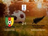 Tres puntos para Camerún: Camerún 2-1 Nueva Zelanda