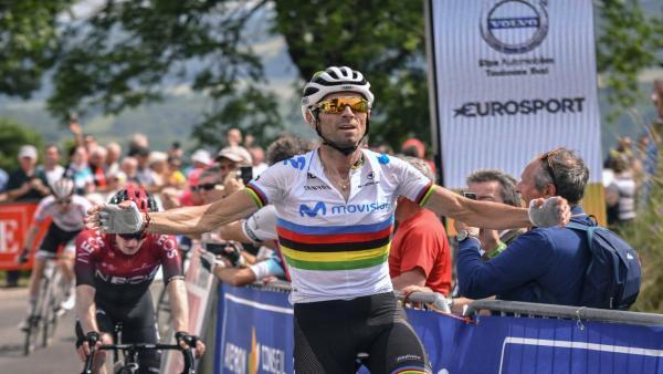 Ciclismo.- Valverde reaparece con una victoria de postín en la Ruta de Occitania