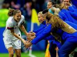 Estados Unidos, contra España en el Mundial