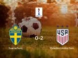 Suecia pierde 0-2 frente a Estados Unidos