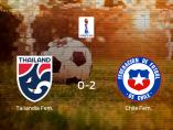 Tailandia pierde ante Chile por 0-2