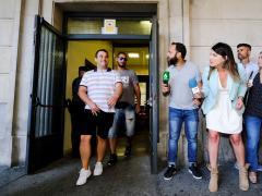 Cabezuelo y el Prenda firman en Sevilla