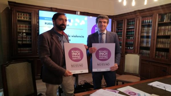 El Ayuntamiento de Segovia repartirá pulseras, bolsas de pan y folletos contra la violencia sexista durante las fiestas