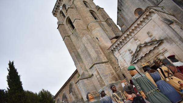'El Curpillos' Reúne A Miles De Personas En 'La Fiesta Más Burgalesa' En Torno Al Real Monasterio De Las Huelgas