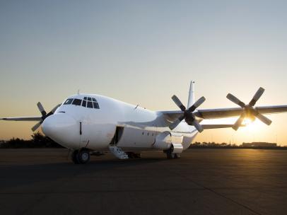 Avión de FlySafair.
