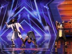El grupo de contorsionistas Adem Show baila caracterizado de 'Mortal Kombat' en 'America's Got Talent'