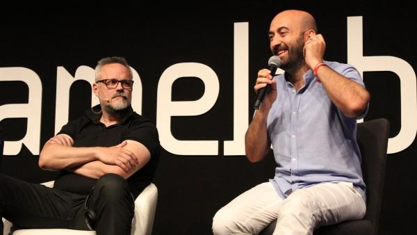 Gonzo Suárez e Iván Fernandez Lobo, ideólogo y director de Gamelab