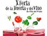 X Feria de la huerta y el vino