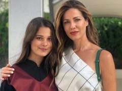 Jaydy Michel y su hija Manuela