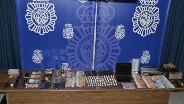 Suc.- La Policía Nacional desarticula una red de tráfico de drogas en Segovia