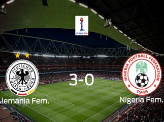 Alemania avanza en el Mundial Femenino tras derrotar a Nigeria en los octavos de final (3-0)