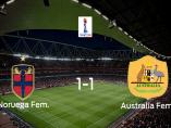 Noruega resuelve los octavos de final frente a Australiadesde el punto de penalti
