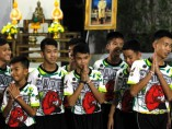 Los niños rescatados en la cueva de Tailandia