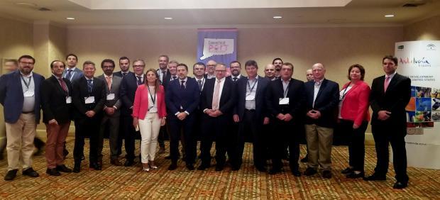 Delegación de Extenda y empresas gaditanas se reúnen con firmas estadounidenses