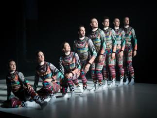 Un momento del espectáculo 'Tundra' de la National Dance Company Wales