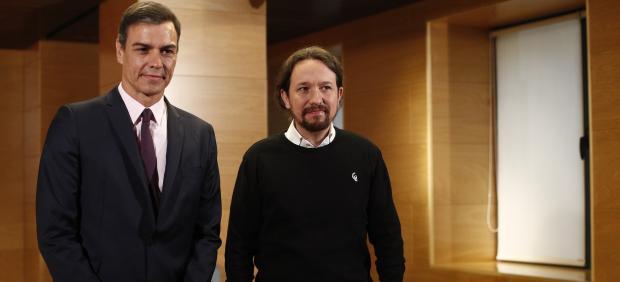 Iglesias no descarta ante Sánchez votar en contra de su investidura en otra...