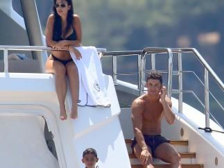 Las vacaciones de Cristiano y Georgina en la Costa Azul