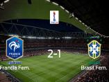 Francia se clasifica para los cuartos de final tras vencer 2-1 a Brasil