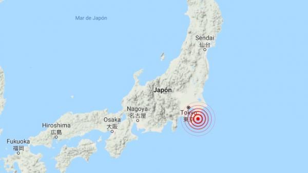 Terremoto en Tokio