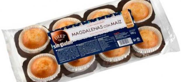 Sanidad alerta a los alérgicos a la leche de unas magdalenas sin gluten con un error en el ...