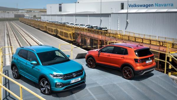 Volkswagen T-Cross fabricado en Volkswagen Navarra