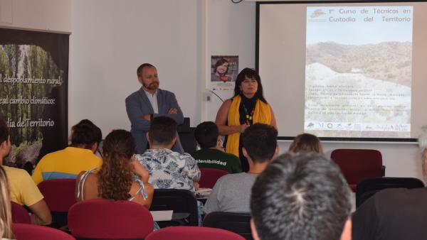 Málaga La Noria curso de custodia del territorio formación pionera contra despoblación rural y cambio climático