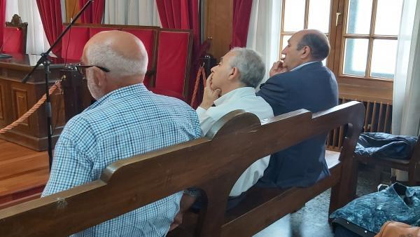 Juicio contra el exdelegado de la Xunta en Ourense Rogelio Martínez.