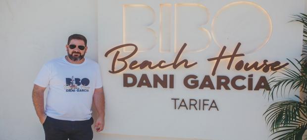 Dani García en la apertura de Bibo Beach House