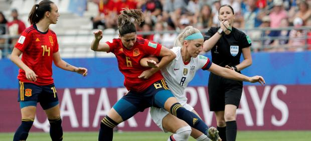 España - Estados Unidos del Mundial femenino