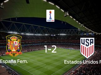 Estados Unidos sigue en el Mundial Femenino tras superar a España en los octavos de final (1-2)