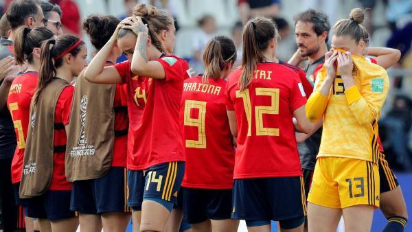 Derrota de España en el Mundial femenino