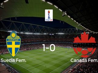 Suecia supera a Canadá en los octavos de final (1-0)