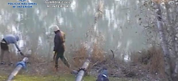 Operación para desmantelar un grupo de robo de cobre en vías de tren de la provincia de Cádiz