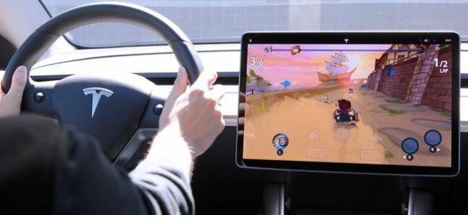 Videoconsolas en el coche: la medida de Tesla mientras se carga el coche eléctrico.