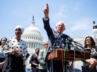 Rueda de prensa de los demócratas sobre préstamos estudiantiles