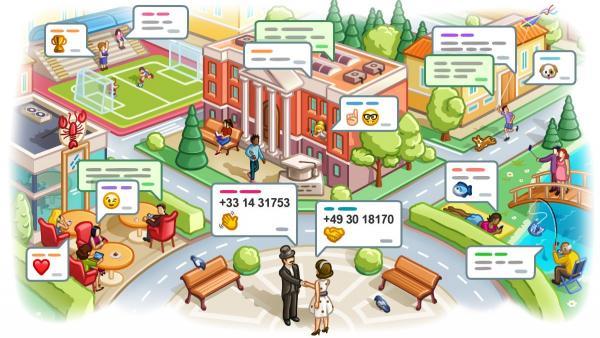 Contactos por geolocalización en Telegram