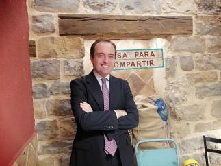 Lucas González, jefe de prensa y portavoz de la representación de la Comisión Europea en España