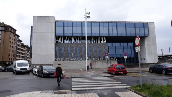 Los Juzgados de Gijón en una imagen de archivo.