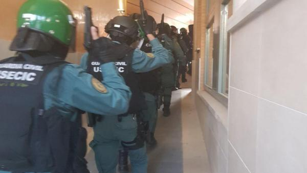Agentes de la Guardia Civil desarticulan un grupo dedicado a la venta de droga en Tarancón