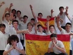 Alumnos del Centro Aixa-Llaut.