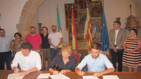 PSPV, Compromís i Podem-CseM-EU firmen l'Acord de Fadrell per a governar Castelló