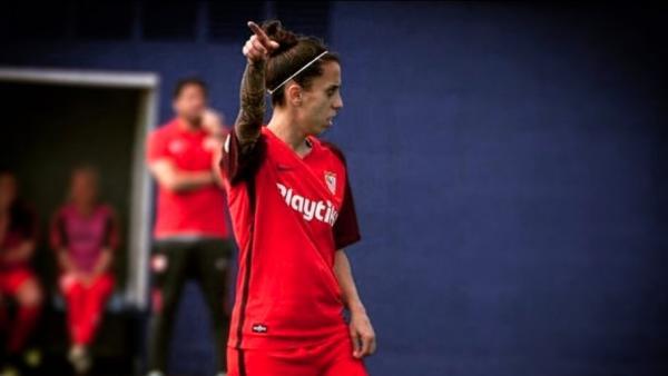 Nagore Calderón, del Sevilla femenino