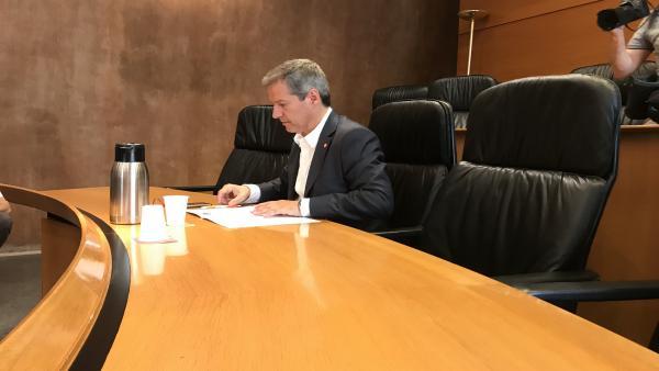 Daniel Pérez, candidato de Cs a la Presidencia del Gobierno de Aragón