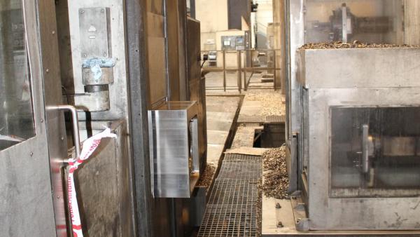 Lugar del accidente laboral en el que ha fallecido un trabajador de 35 años en una empresa de Arbizu