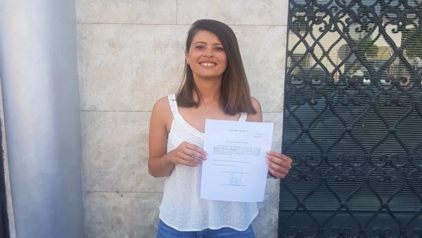 La diputada provincial del PP de Almería Ángeles Martínez