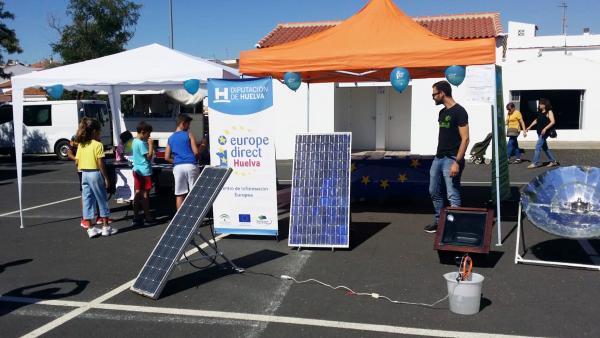 Huelva.- Diputación celebra la Semana Europea de la Energía con actividades en varios municipios de la provincia