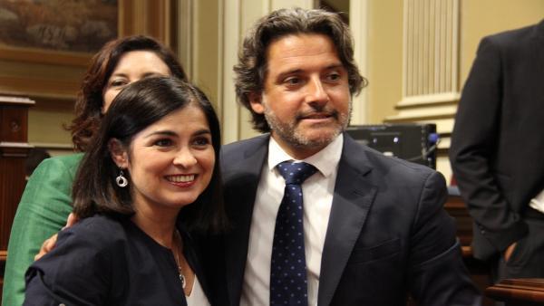 CONSTITUCIÓN X LEGISLATURA (CAROLINA DARIAS Y GUSTAVO MATOS)