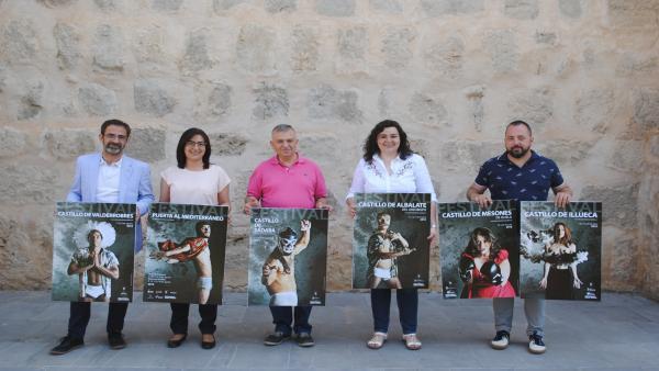 Los Festivales de los Castillos de Aragón se han presentado este martes en Teruel.
